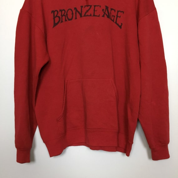 Sweatshirt Sweater Pull Surf Over Skate Beach Vtg AGE Venice Size XL BRONZE Hoodie vHA6qZ