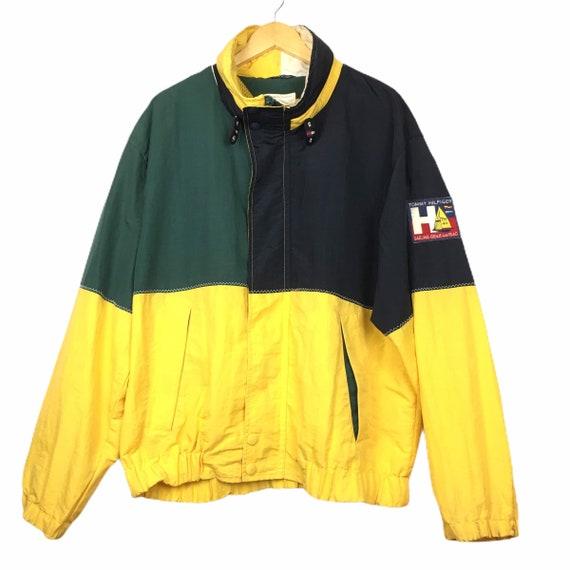 Vtg Tommy Hilfiger Sailing Gear Windbreaker Jacket