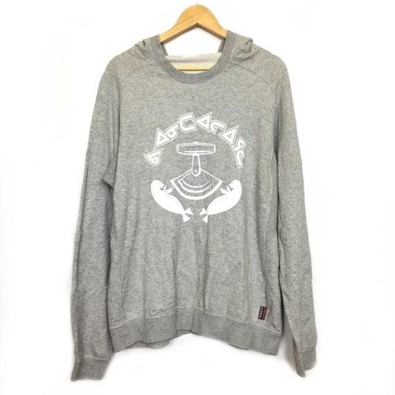 VANDALIZE Japan Gray Hoodie Sweatshirt Size L