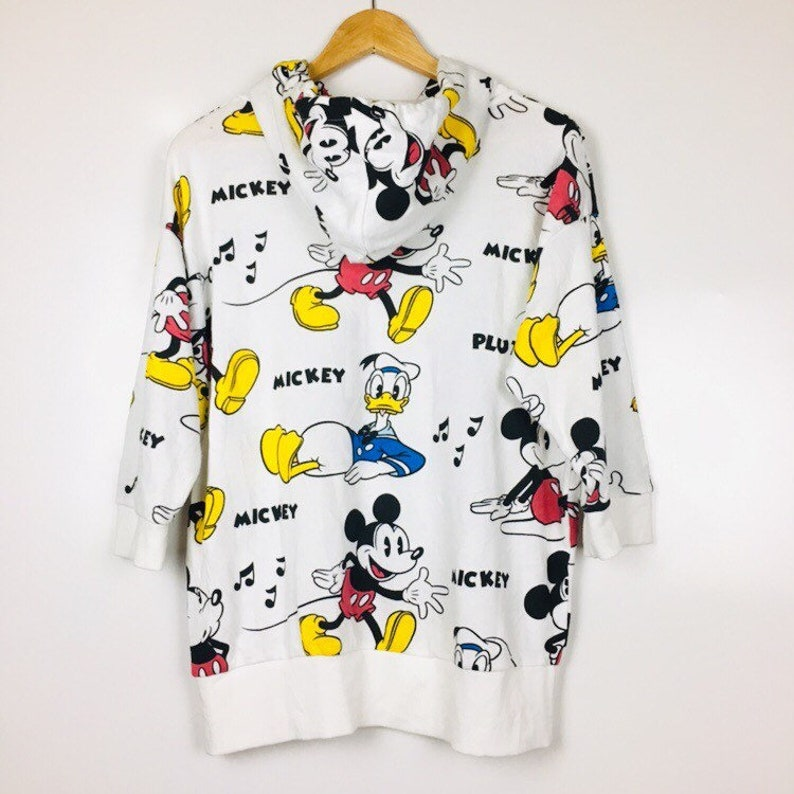 Vtg Mickey Mouse Pullover Sweater Sweatshirt Women/'s Size M