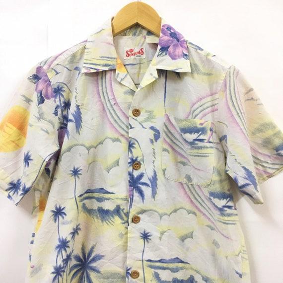 Vtg Sunbums Aloha Hawaiian Shirt - image 2