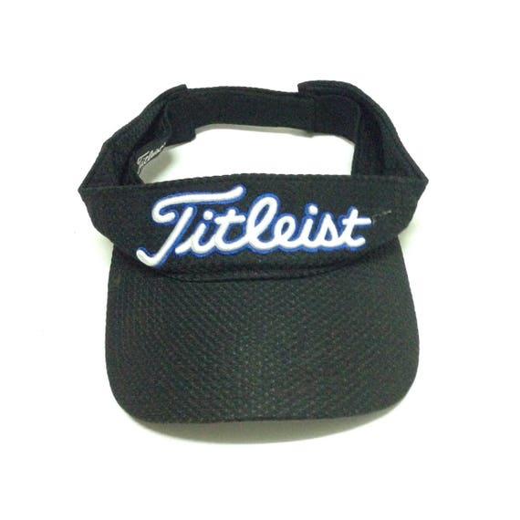 e1f2b521e1a Titleist Golf Sun Visor Cap Foot Joy Hook   Loop