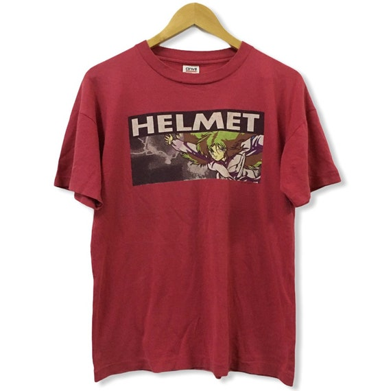 Vtg 1993 Helmet x Birdhouse Projects  Skateboard T