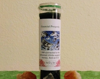 Financial Prosperity Candle