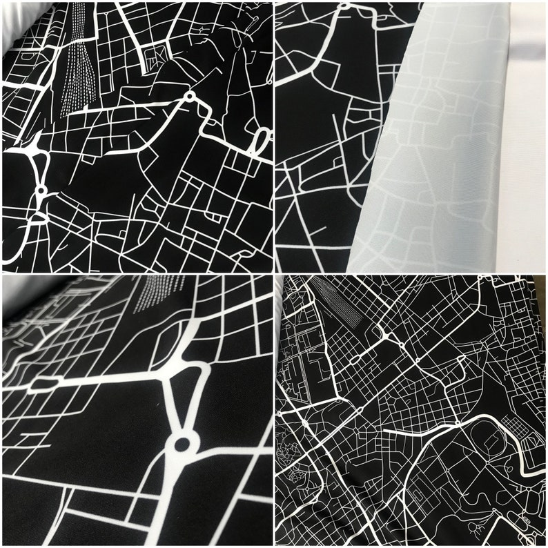 Digitally Printed Spandex