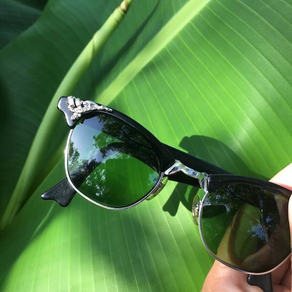 Cat Eye Sunglasses, Black Cat Eye Sunglasses, Retr