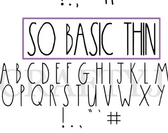 TWO! Rae Dunn Inspired actual fontS | OTF | TTF | Silhouette | Cricut | Instant Download | diy | vinyl decal