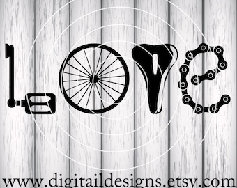 Bicycle Love Etsy