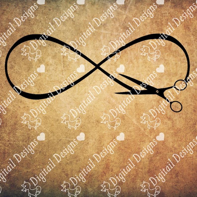 a3d5442a90198 Scissors Infinity SVG png dxf eps ai fcm Cut file