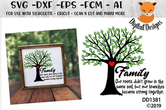 Adoption Family Tree Svg Adopted Baby Svg Dxf Png Eps Etsy
