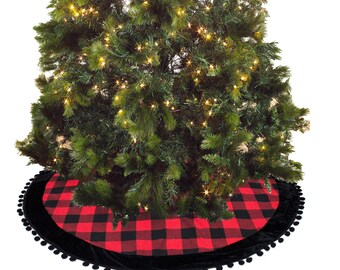 velvet christmas tree skirt etsy - Christmas Tree Skirts Etsy