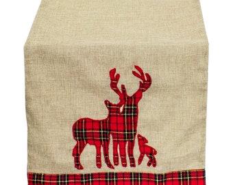 4508976d57 Tartan Plaid Dazzle Christmas Decorative Table Runner, Tree Skirt,  Stocking, Pillows