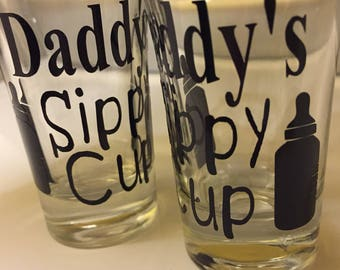 Daddy's Sippy Cup Shot Glass
