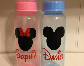 Disney baby bottle Monogram Name