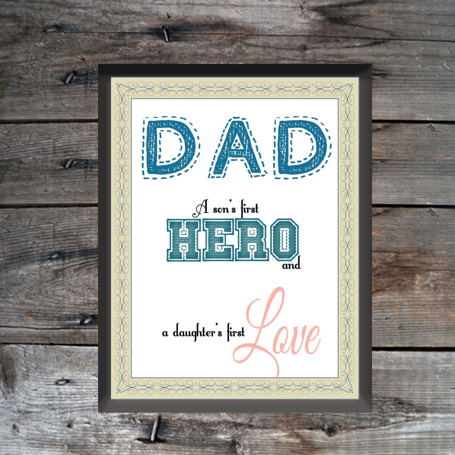 watercolor fathers day printables - HD1500×1500