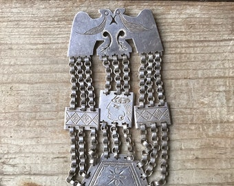 Mapuche Vintage Pin from Chile