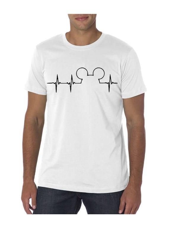 4638a24e Disney Heartbeat Shirt Disney Addict Disney Family Shirts | Etsy