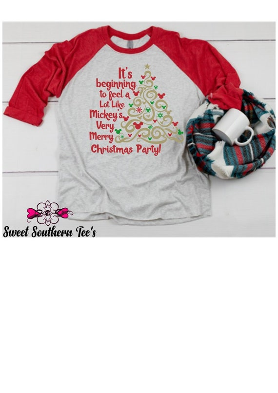 7f679453 Mickey's Very Merry Christmas Party Inspired Tshirt | Etsy
