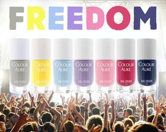 "153 - 159 ""Freedom"" stamping polish set"