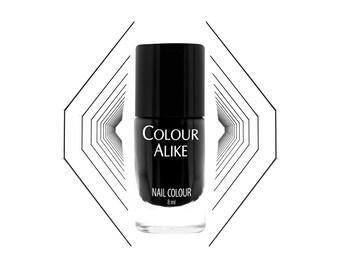 730 Mystic Black - nail polish