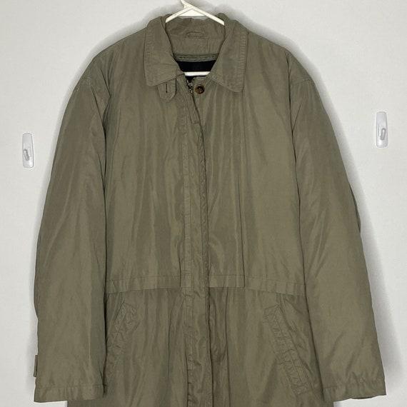 Vintage Eddie Bauer Long Coat Mens XLT Zip out dow