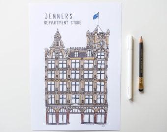 Jenners Edinburgh Print