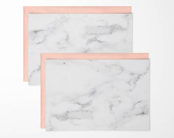 Marble Note Cards - pack of 6