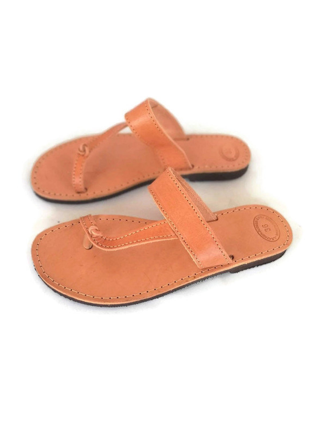 Leather Handmade Greek Sandals - Big Sale 8BZGs