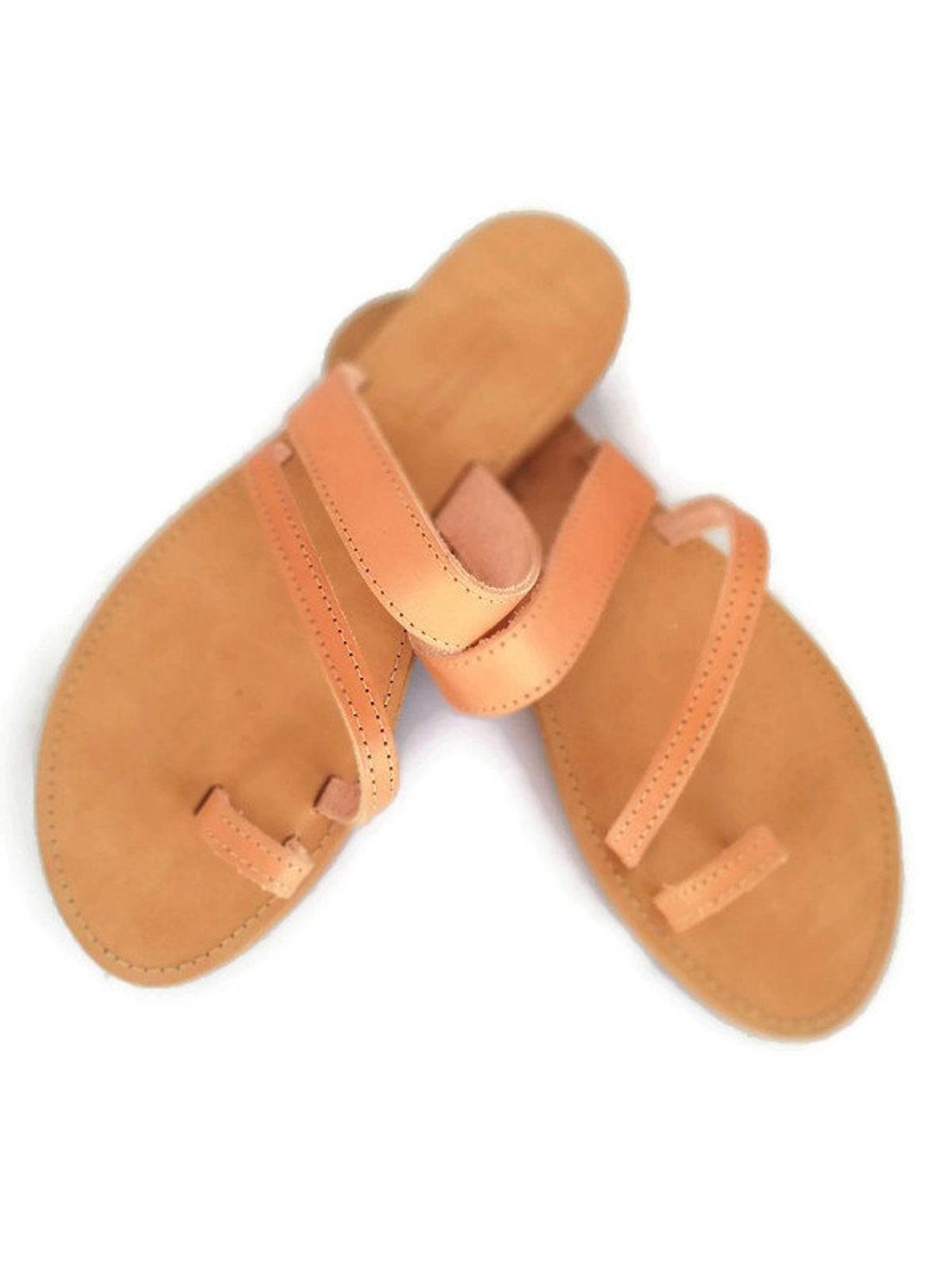 Leather Handmade Greek Sandals - Big Sale T8gli