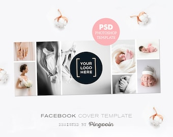 facebook timeline cover photography timeline template cover etsy