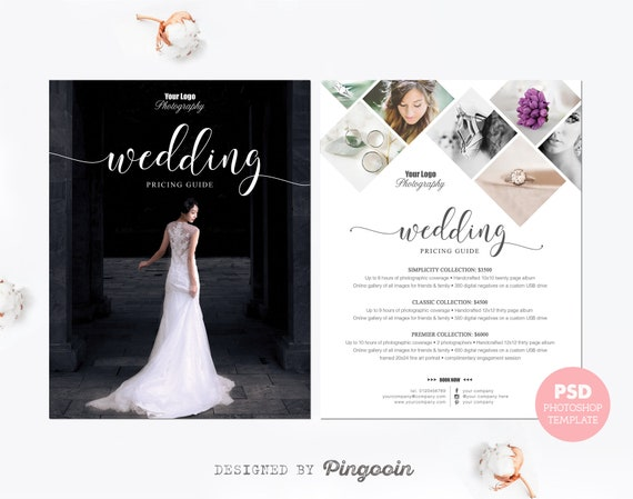 Price List Template Photography Pricing