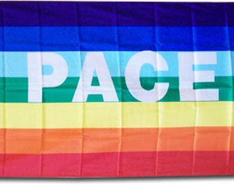 Peace (PACE) - 3'X5' Polyester Flag