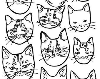 Cats Drawing