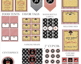 Pirate Party Printable Package