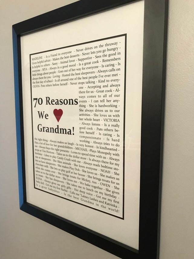 Gilmore Girls Rory Marty Source Reasons We Love You Things About 70th Birthday Etsy