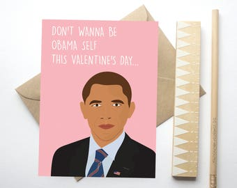 Trump Valentine Card Etsy