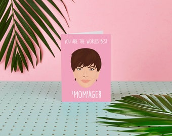 Kris Jenner - Mother's Day Card - Kardashian Mother's Day Card - Khloe Kardashian - Funny - Humour - For Mum - Cute - Momager - Jenners