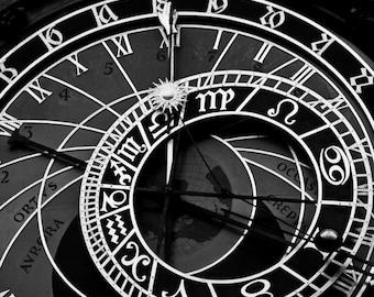 Prague Astronomical Clock Print