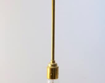 Bold as Brass Pendant Light