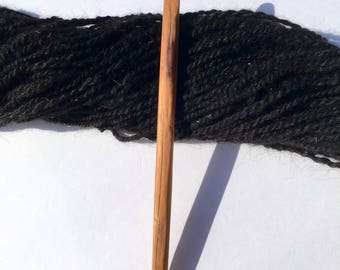 Hand Carved Crochet Hook - Size M (US)