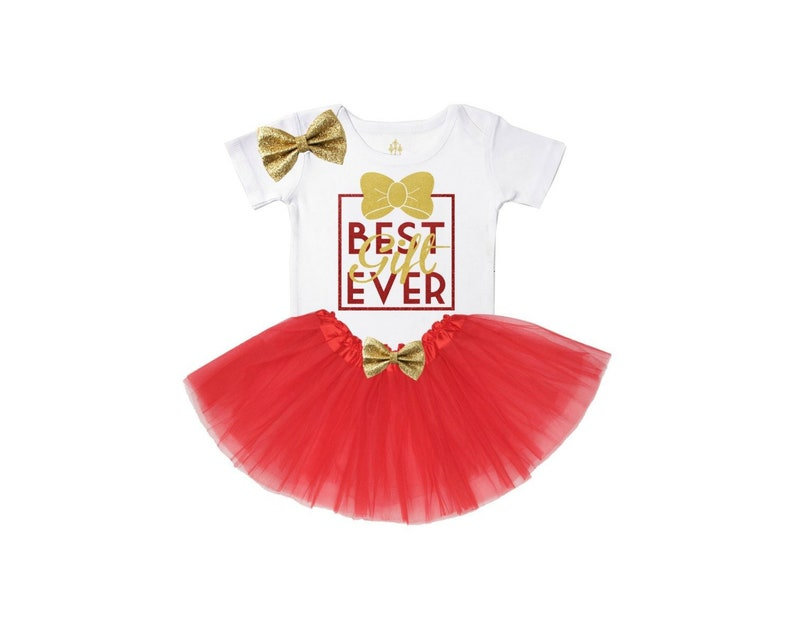 bb2e83ad9 Baby girl christmas outfit newborn christmas outfit best | Etsy