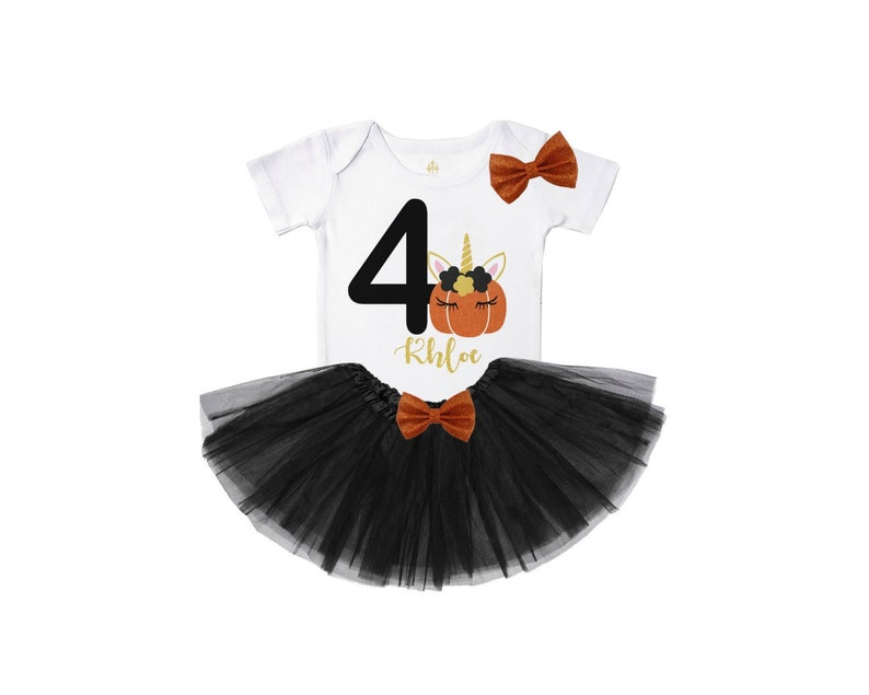 6a7288c3a7 ... birthday outfit unicorn p... fourth birthday outfit girl 4th birthday  shirt october birthday outfit unicorn pumpkin outfit black gold tutu outfit  cute ...