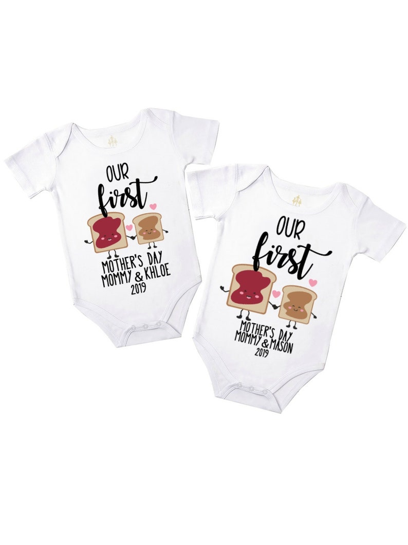acb53c8838 our first mother's day baby bodysuit | 1st mom's holiday personalized gift  | new mom gift