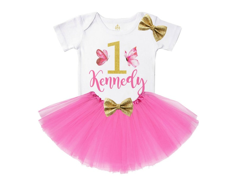 df9da677 Butterfly birthday outfit butterfly first birthday outfit pink   Etsy