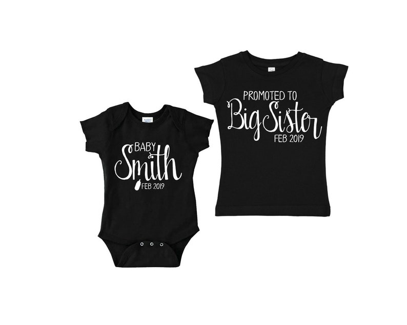 f942ecfdbf81c Promoted to big sister tshirt pregnancy announcement baby | Etsy
