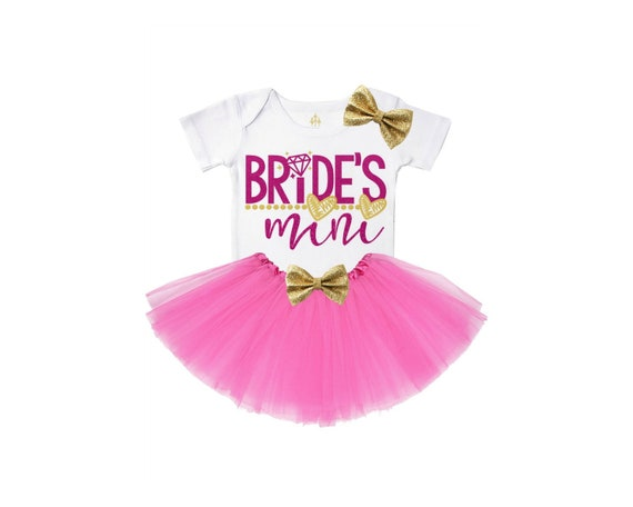 bride/'s mini tutu outfit toddler girl clothes baby girl clothes baby girl outfit baby girl tutu outfit girl outfit weddings