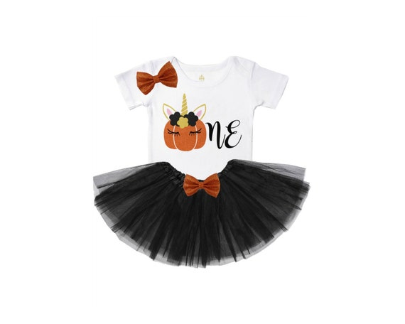 dd251cfde7da0 Girls pumpkin first birthday outfit pumpkin 1st birthday party | Etsy