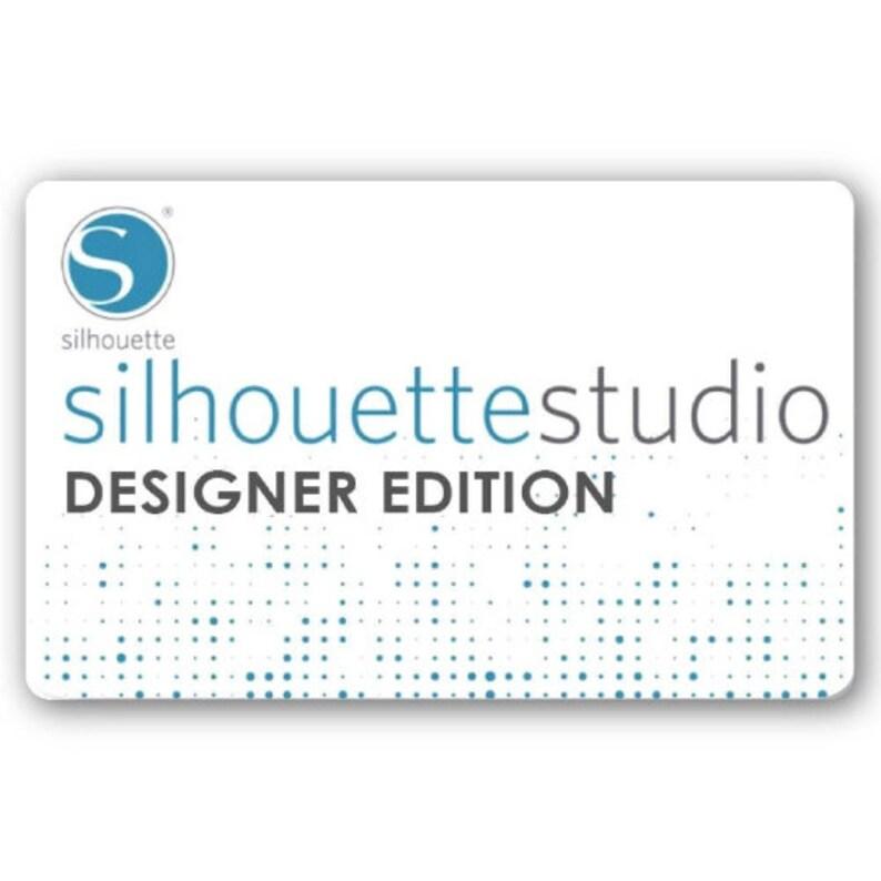 LOWEST PRICE Silhouette Studio Designer Edition Software image 0