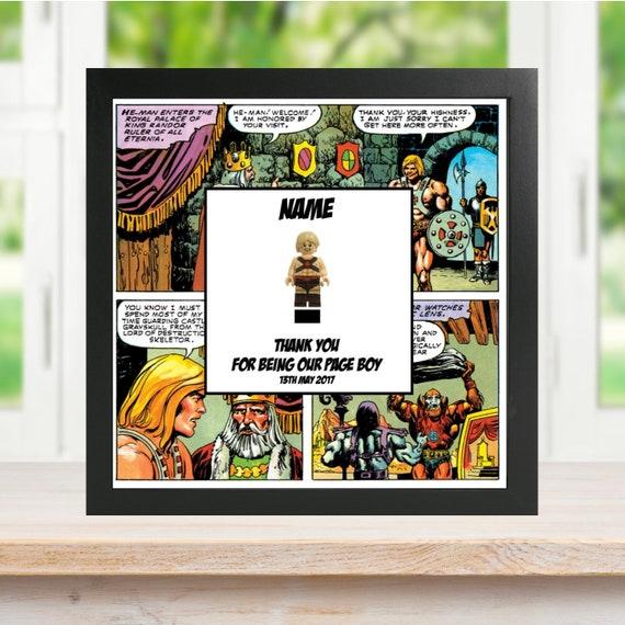 He-Man Best Man, Groomsman, Usher, Page Boy Minifigure Frame