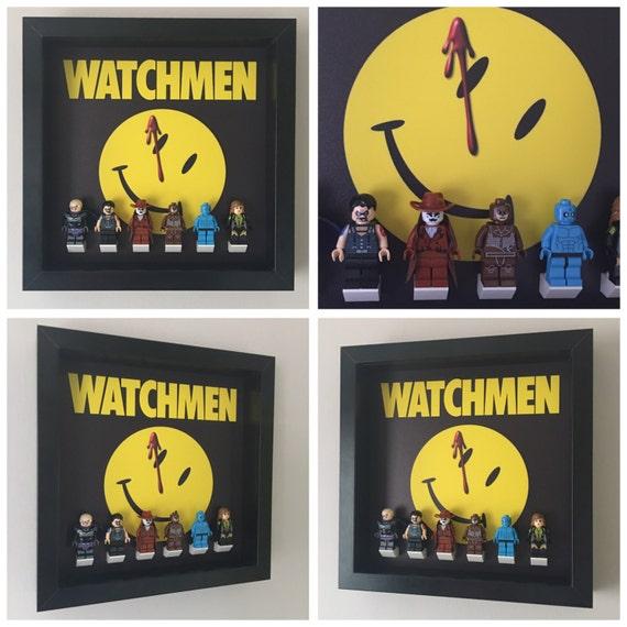 The Watchmen 6PC Minifigure Frame
